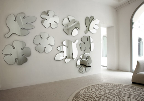 Modern Mirror Wall Art and Mirror Accessories by Porada
